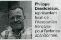 Philippe Desclozeaux ou la fibre de la générosité